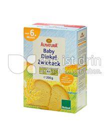 Produktabbildung: Alnatura Baby Dinkel Zwieback 200 g