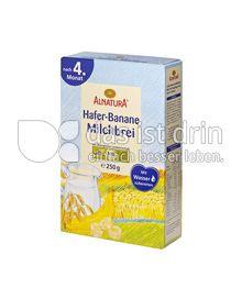 Produktabbildung: Alnatura Hafer-Banane Milchbrei 250 g