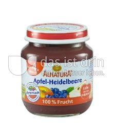 Produktabbildung: Alnatura Apfel-Heidelbeere 125 g