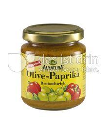 Produktabbildung: Alnatura Olive-Paprika Brotaufstrich 110 g