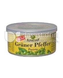 Produktabbildung: Alnatura Grüner Pfeffer Pastete 125 g