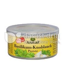 Produktabbildung: Alnatura Basilikum-Knoblauch Pastete 125 g