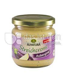 Produktabbildung: Alnatura Streichcreme Aubergine 180 g