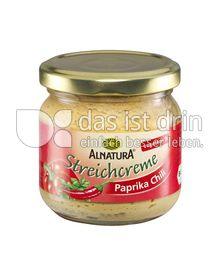 Produktabbildung: Alnatura Streichcreme Paprika Chili 180 g