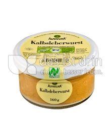 Produktabbildung: Alnatura Kalbsleberwurst 160 g