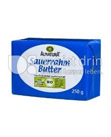 Produktabbildung: Alnatura Sauerrahm Butter 250 g