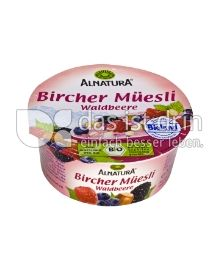Produktabbildung: Alnatura Bircher Müesli Waldbeere 125 g