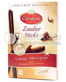 Produktabbildung: Carstens Lübeck Zauber Sticks Classic-Marzipan 125 g