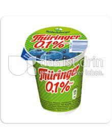 Produktabbildung: Heidecksburger Thüringer 0,1% Fett Heidelbeeren 150 g