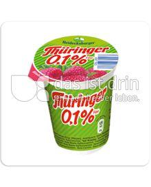 Produktabbildung: Heidecksburger Thüringer 0,1% Fett Himbeere 150 g