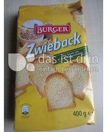 Produktabbildung: Burger Zwieback 400 g