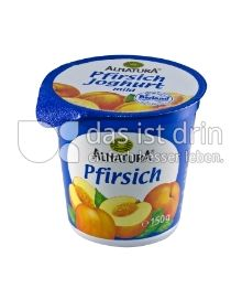 Produktabbildung: Alnatura Pfirsich Joghurt 150 g