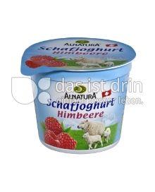 Produktabbildung: Alnatura Schafjoghurt Himbeere 120 g