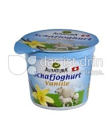 Produktabbildung: Alnatura Schafjoghurt Vanille 120 g