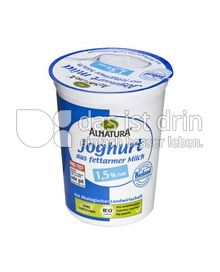 Produktabbildung: Alnatura Joghurt aus fettarmer Milch 500 g