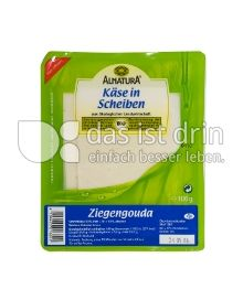 Produktabbildung: Alnatura Ziegengouda 100 g
