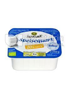 Produktabbildung: Alnatura Speisequark 20% Fett i. Tr. 250 g