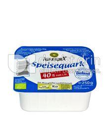 Produktabbildung: Alnatura Speisequark 40% Fett i. Tr. 250 g