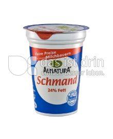 Produktabbildung: Alnatura Schmand 200 g