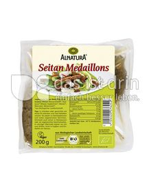 Produktabbildung: Alnatura Seitan Medaillons 200 g