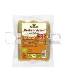 Produktabbildung: Alnatura Bratwürstchen aus Seitan 200 g