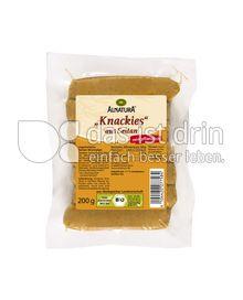 Produktabbildung: Alnatura Knackies aus Seitan 200 g