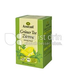Produktabbildung: Alnatura Grüner Tee Zitrone 20 St.