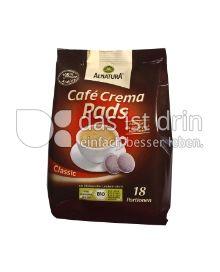 Produktabbildung: Alnatura Café Crema Pads 126 g