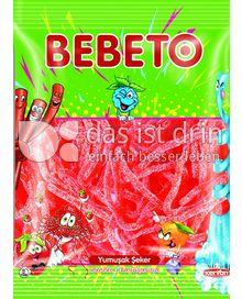 Produktabbildung: BEBETO Bebeto Spaghetti Erdbeeren Sour - Halal 80 g