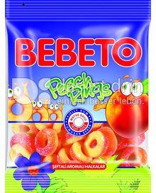 Produktabbildung: BEBETO Bebeto Peach Rings Sour - Halal 80 g