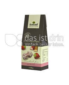 Produktabbildung: Alnatura Sélection Fruchtkonfekt Erdbeer Rhabarber 80 g