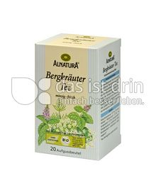 Produktabbildung: Alnatura Bergkräuter Tee 20 St.