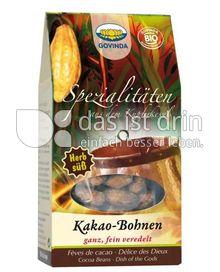 Produktabbildung: Govinda Kakao-Bohnen 100 g