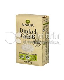 Produktabbildung: Alnatura Dinkel Grieß 500 g