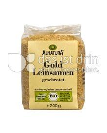 Produktabbildung: Alnatura Gold Leinsamen geschrotet 200 g