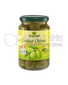 Produktabbildung: Alnatura Grüne Oliven 340 g