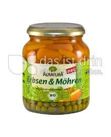 Produktabbildung: Alnatura Erbsen & Möhren 340 g