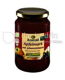 Produktabbildung: Alnatura Apfelmark m. Johannisbeere 360 g