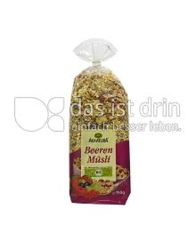Produktabbildung: Alnatura Beeren Müsli 750 g