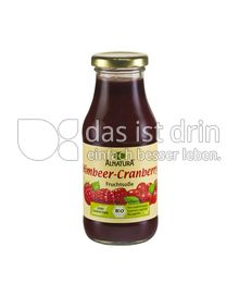 Produktabbildung: Alnatura Himbeer-Cranberry Fruchtsoße 250 ml