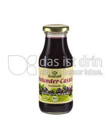 Produktabbildung: Alnatura Holunder-Cassis Fruchtsoße 250 ml