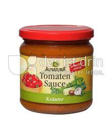 Produktabbildung: Alnatura Tomaten Sauce Kräuter 350 ml
