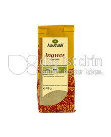 Produktabbildung: Alnatura Ingwer 45 g