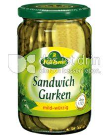 Produktabbildung: Kühne Sandwich Gurken 370 ml
