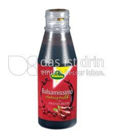 Produktabbildung: Kühne Balsamissimo mit Preiselbeere 215 ml