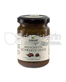 Produktabbildung: Alnatura Bruschetta Schwarze Olive Origin 130 g