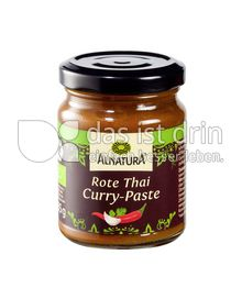 Produktabbildung: Alnatura Rote Thai Curry-Paste 135 g