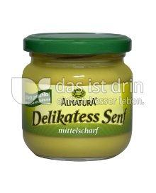 Produktabbildung: Alnatura Delikatess Senf 200 ml