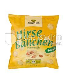 Produktabbildung: Alnatura Hirse Bällchen Erdnuss 75 g