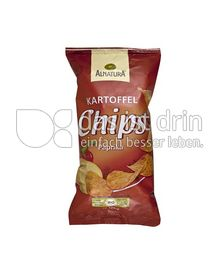 Produktabbildung: Alnatura Kartoffel Chips Paprika 125 g
